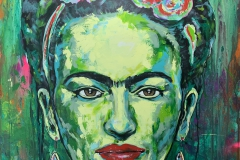 FridaKahlo100x100