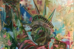 LadyLiberty 80 x 100 2018